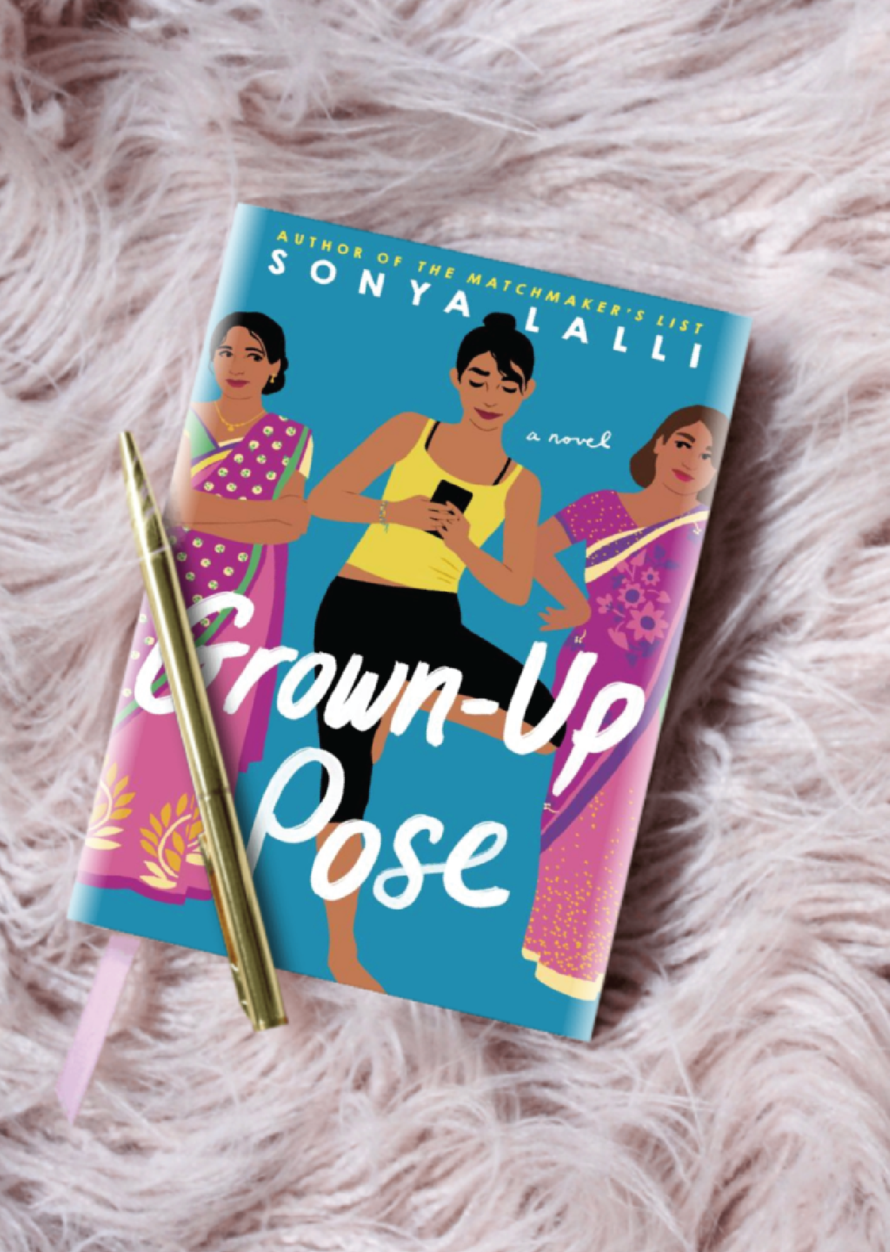 Grown-Up Pose by Sonya Lalli